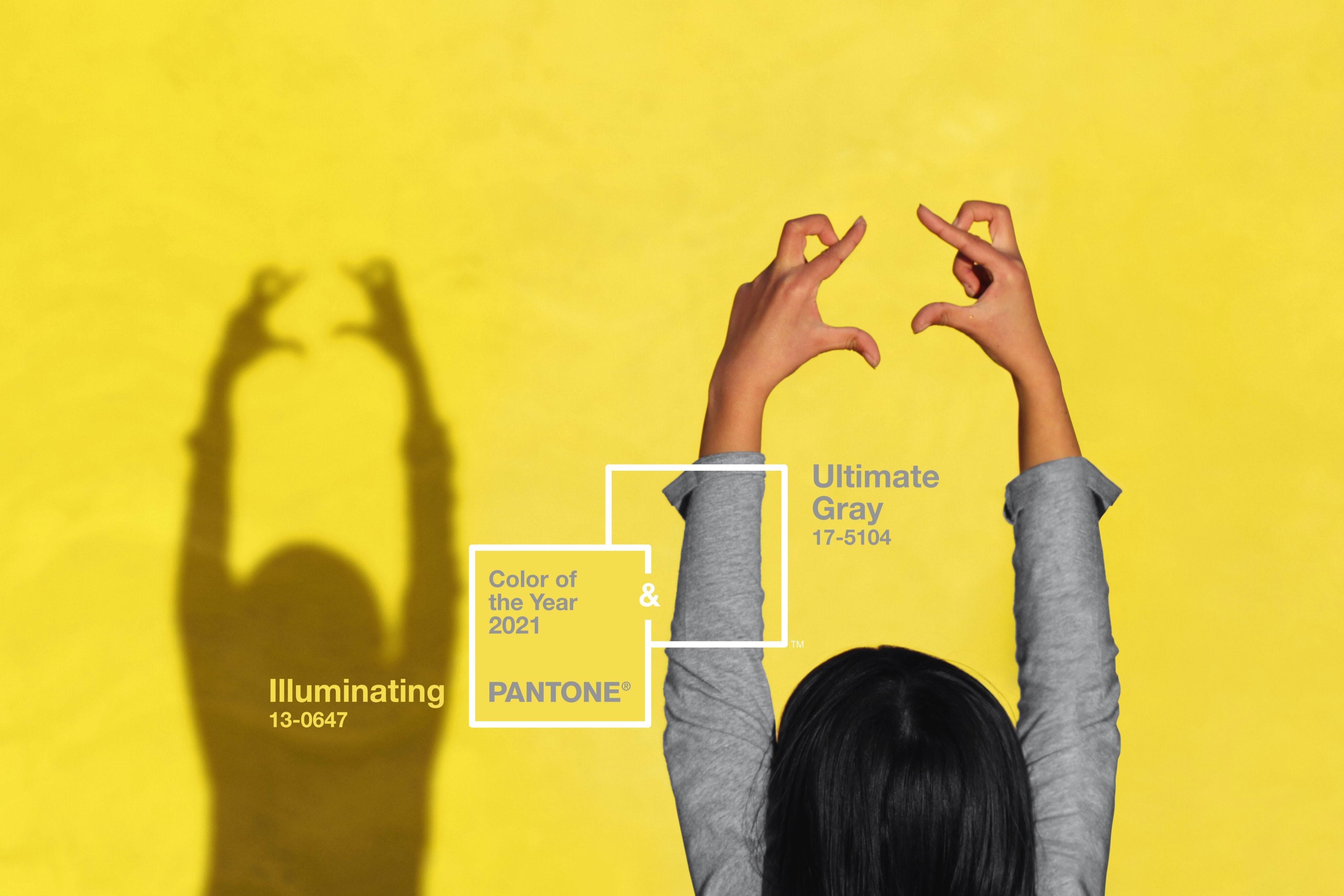 Институт цвета Pantone выбрал два цвета 2021 года