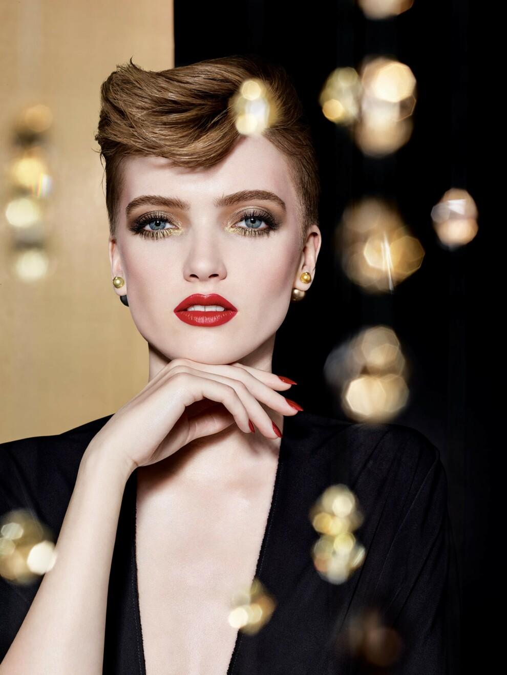 Golden Nights: рождественская коллекция для макияжа от Dior