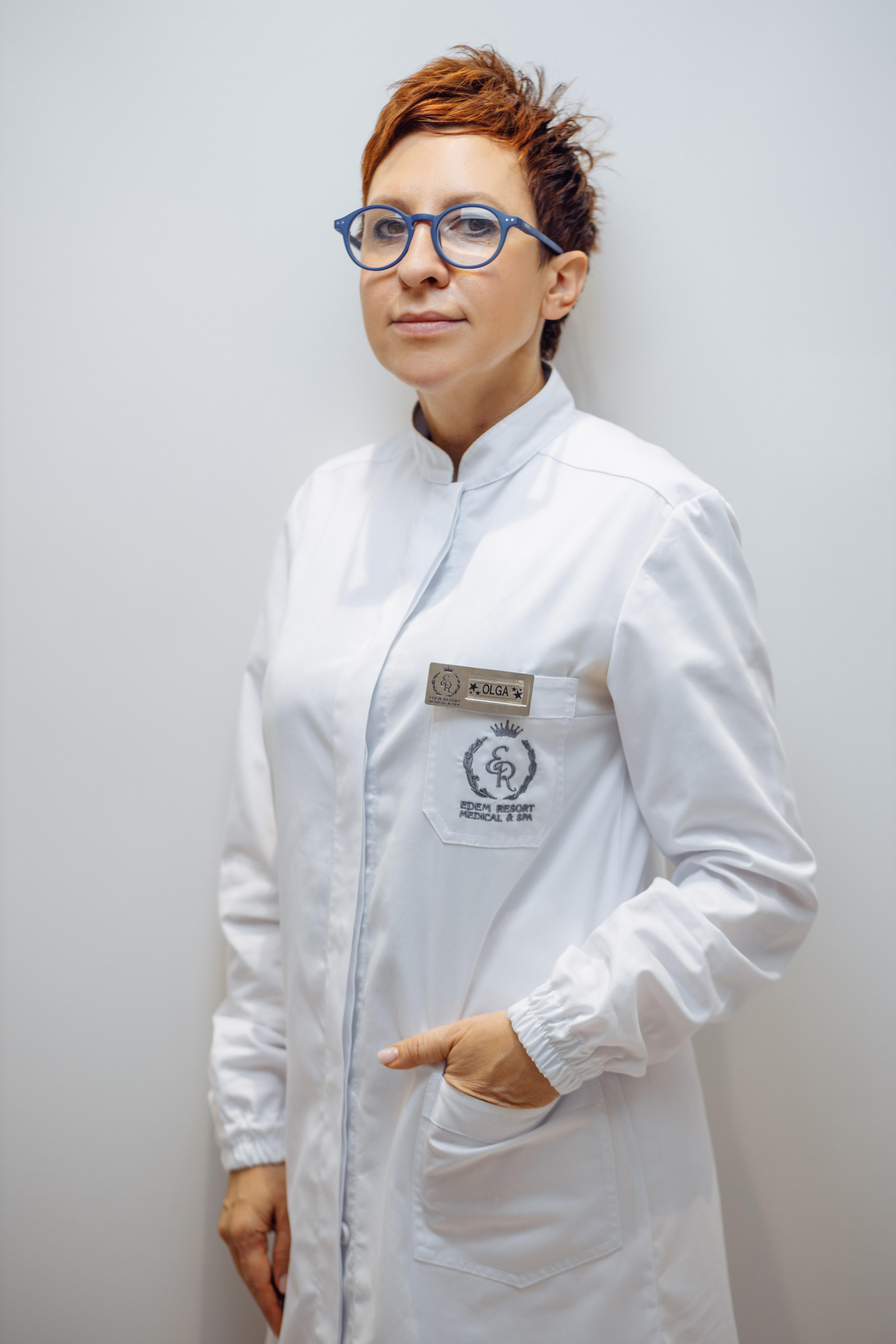 Ольга Полак, керівник відділу естетичної медицини Edem Resort Medical & SPA