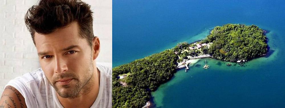 Рики Мартин остров