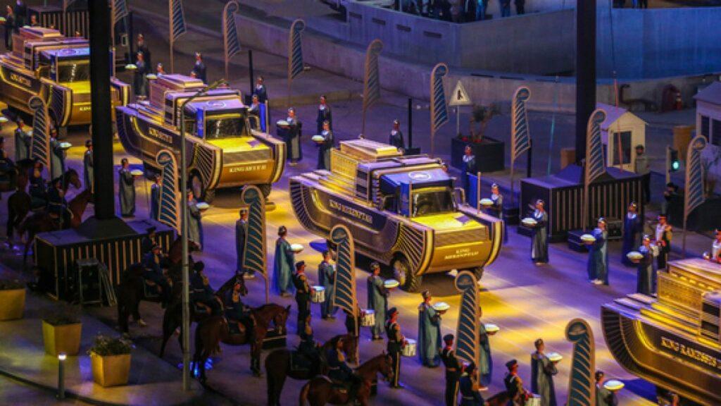 парад фараонов