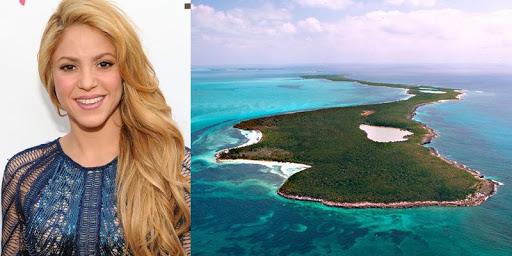 Шакира остров