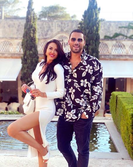 Ирина Черутти с мужем