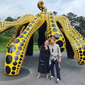 Вита Кин с мужем