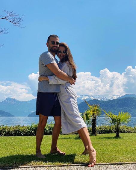 Анна Андрес с мужем