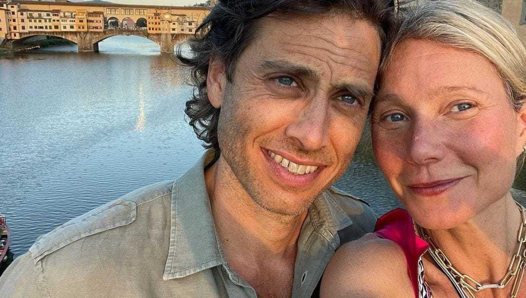 Гвинет Пэлтроу и ее муж Брэд Фэлчак