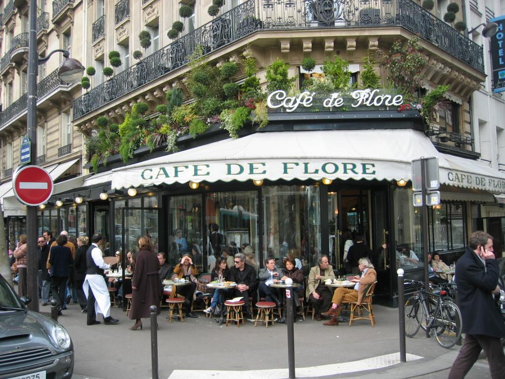 Кафе Cafe de Flore